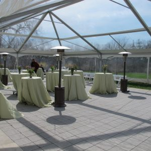Outdoor fall and winter event rentals