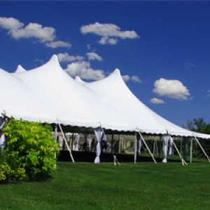 Tenting for winter party