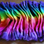 Plan a party! Tie Dye Socks!